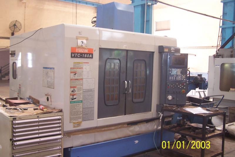 Mazak Milling Machine