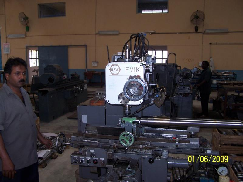 Key way milling Machine